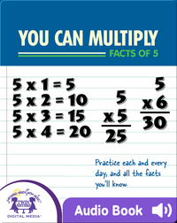 You Can Multiply Facts of 5