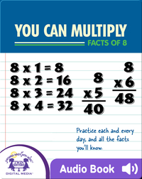 You Can Multiply Facts of 8