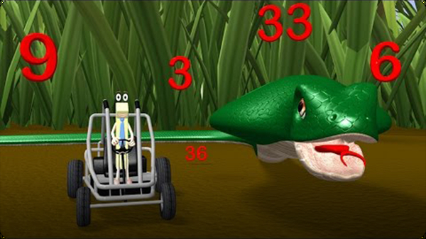 Three Times Table Video with Mr. Snake