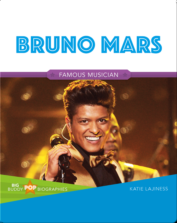 Big Buddy Pop Biographies: Bruno Mars