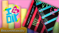 Make Your Own Chalkboard Paint with HowToByJordan | I ♥ DIY
