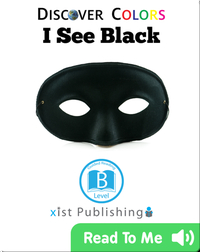 Discover Colors: I See Black