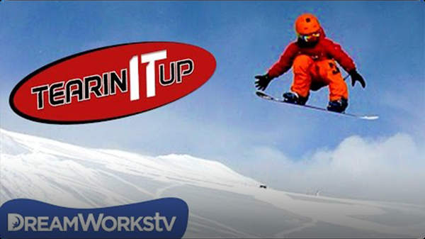 10-Year-Old Kid Snowboarder Shredding The Gnar | TEARIN' IT UP
