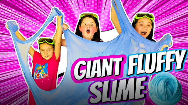 How to Make the BIGGEST FLUFFY SLIME!