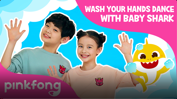 Wash Your Hands Dance with Baby Shark