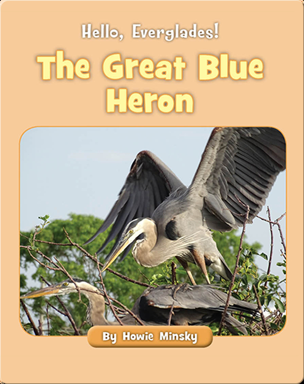 Hello, Everglades!: The Great Blue Heron