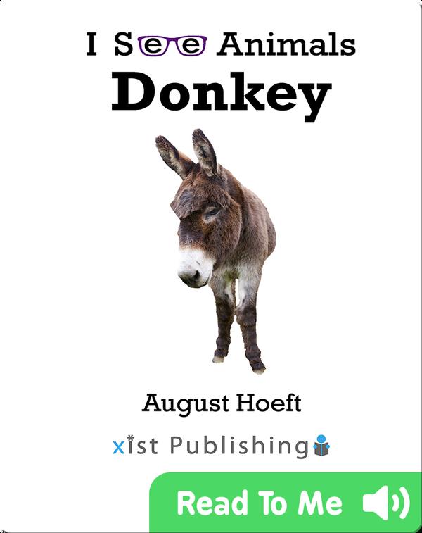 I See Animals: Donkey