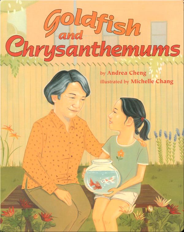 Goldfish and Chrysanthemums