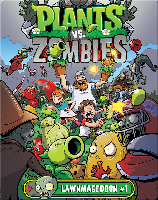 Plants Vs Zombies Lawnmaggeddon 1