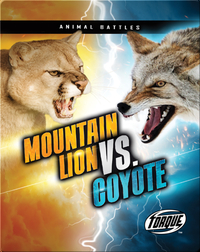 Animal Battles: Mountain Lion vs. Coyote