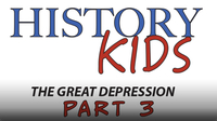 The Great Depression Part 3: Relief, Recovery, Reform