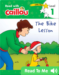 Caillou: The Bike Lesson