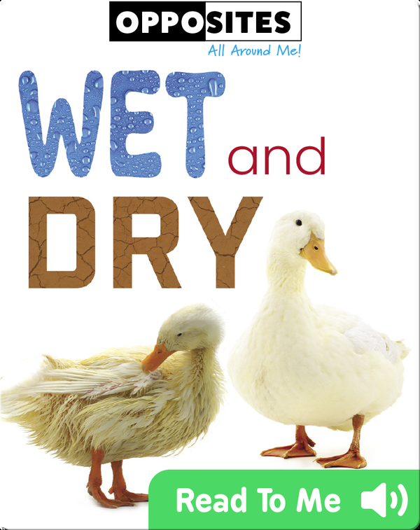 Opposites: Wet and Dry