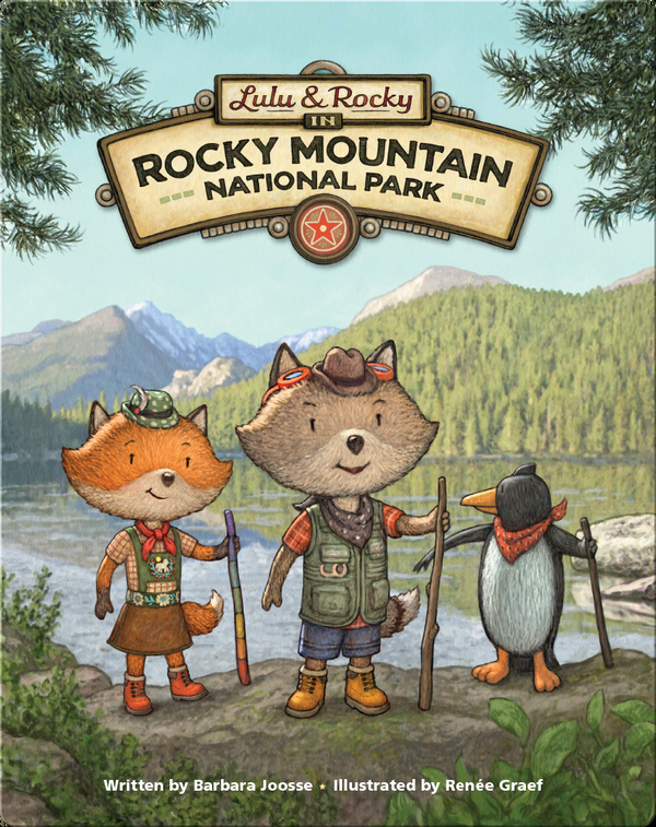 Lulu & Rocky in Rocky Mountain National Park