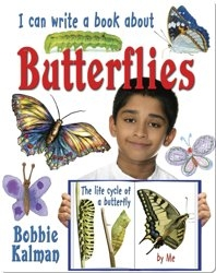 I Can Write a Book About Butterflies