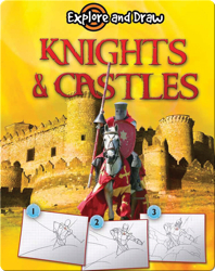 Explore And Draw: Knights & Castles