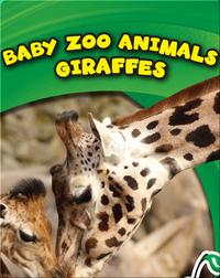 Baby Zoo Animals: Giraffes