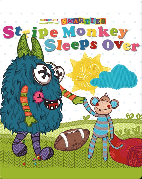 Stripe Monkey Sleeps Over