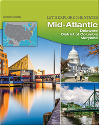 MidAtlantic: Delaware, District of Columbia, Maryland