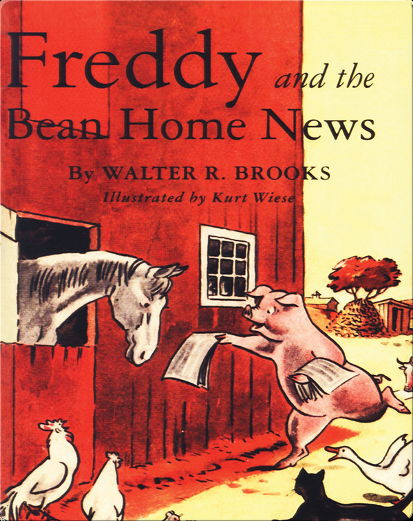 Freddy #10: Freddy and the Bean Home News