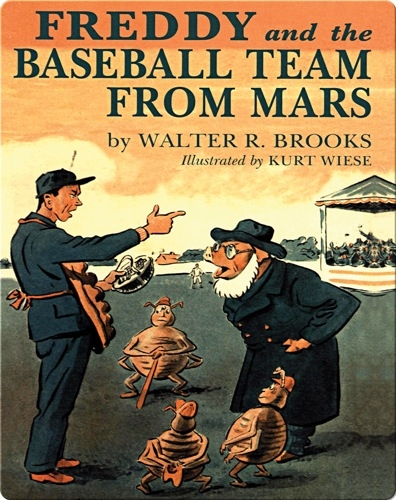 Freddy #23: Freddy and the Baseball Team From Mars