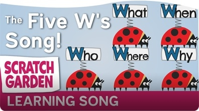 The Five W's Song