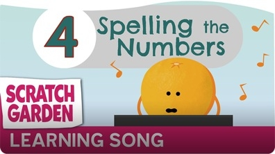 The Spelling the Numbers Song