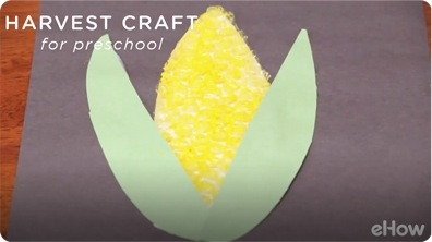 Fun Harvest Crafts for Preschool