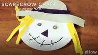 Scarecrow Crafts for Preschoolers to Make