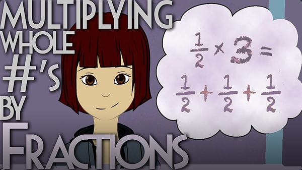 Multiplying Whole Numbers by Fractions