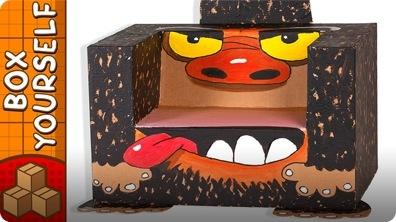 Crafts Ideas for Kids - Box Gorilla