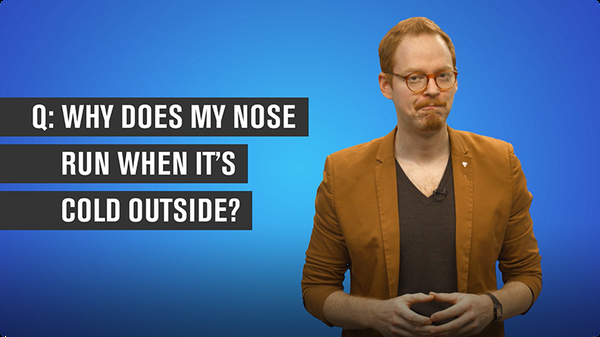 Why Does My Nose Run When It's Cold Outside?