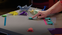mathXplosion: Folded Paper, Hopping Frog