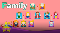 Kids Vocabulary: Family - Family Members & Family Tree