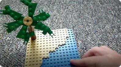 How to Build: Lego Palm Tree