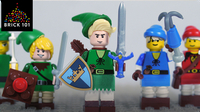 How To Build LEGO Link from Legend of Zelda