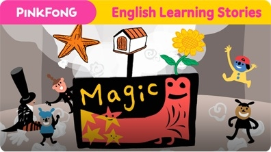 The Magic Box (English Learning Stories)