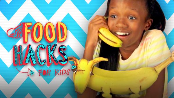 Banana Hacks | FOOD HACKS FOR KIDS