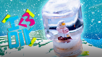 Minecraft Snow Globe with PuddingFishCakes | I ♥ DIY