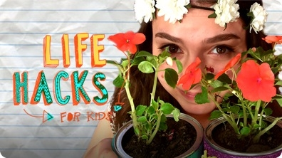 Earth Day Hacks | LIFE HACKS FOR KIDS
