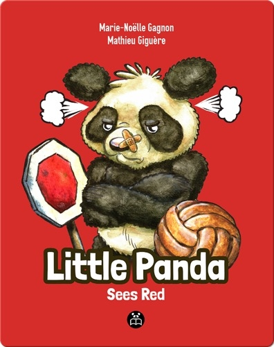 Little Panda Sees Red