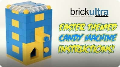 How To Build an Easter Themed LEGO Candy Machine