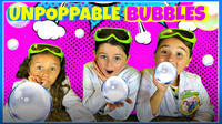 DIY Bubbles for Kids - MAGIC No Pop Bubbles! | Kids Fun Activities