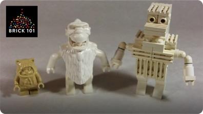How To Build a LEGO Yeti (Snowbearman)