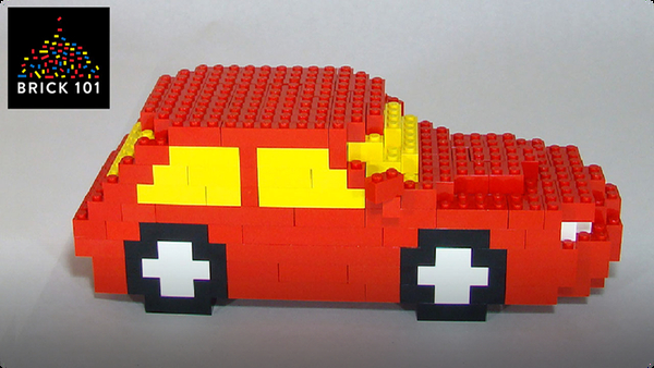 How To Build a Red LEGO Car