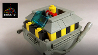 How To Build LEGO Dr. Robotnik and his Eggmobile