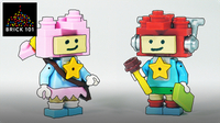 How To Build LEGO Scribblenauts Maxwell & Lily