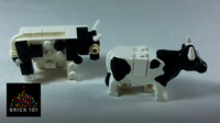 How To Build a LEGO Cow