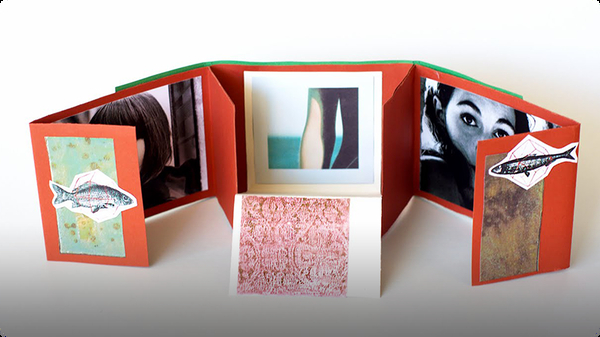 How to Make a Folding Scrapbook Album