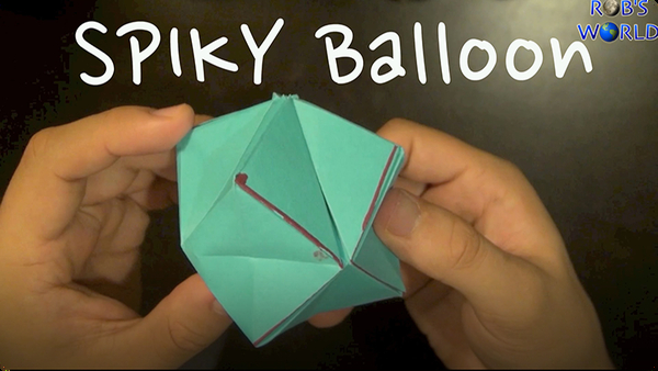 How to Make a Spiky Balloon